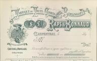 Fabrique de fruits confits et de berlingots Raps et Bonnaud, Carpentras, 189?.