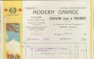 Modern'Garage, Charavin Jeune et Philibert. Orange,1925