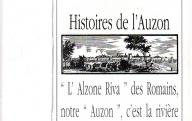 544	AVON (J.)	Histoires de l'Auzon. (photocopies).	Carpentras, 1994.