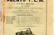 Catalogue de l'Union des agents P.L.M. de la région marseillaise (1912).