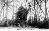 Gentilly, un coin du parc.	Sorgues