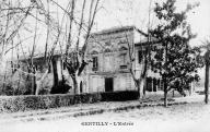 Gentilly, l'entrée.	Sorgues